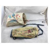Vintage Champion Clothespin Bag & Apron