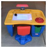 Kids Art Desk and Chair