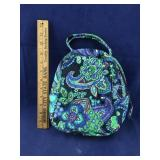Vera Bradley Blues and Greens Lunch Bunch Bag