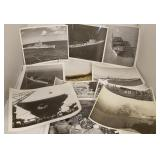 28 Vintage World War II Era Navy Ship Photographs