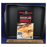 New Nordic Ware Backsplash Griddle
