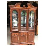 Large Wooden China Cabinet