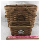 Two Longaberger Baskets
