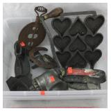 Griswold Steel Spindle, Iron, Meat Grinder, Etc.