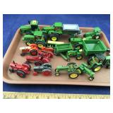 Case and Farmall and John Deere Toy Tractors