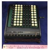 Antique Burroughs Calculator