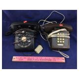 Two Vintage Telephones