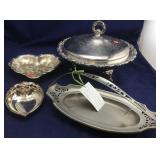 Silver Plate and Metal Ware