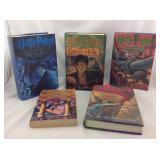 Five Harry Potter books