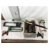 Assortment of Sprinklers and Hose Attachments