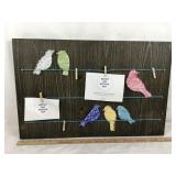Clip Collage Art Display Board