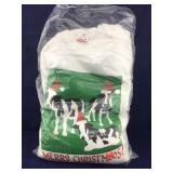 Bag of 3 New Small Custom Xmas Cow Sweatshirts