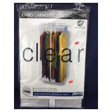 New Clear Jumbo Garment Closet