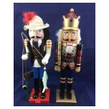 Pair of Tall Nutcrackers