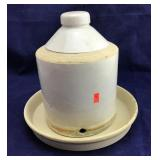 Crockery Chicken Feeder or Waterer