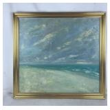 Ocean View Original Oil Painting
