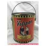 Vintage One Gallon Super Valspar Varnish Can
