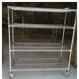 Metro Rolling wire metal rack