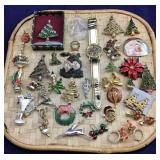 Large Selection of Christmas Jewelry