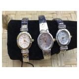 Trio of Vintage Sarah Coventry Watches