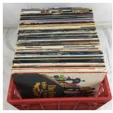 Collection of Vinyl LPs - 70+ Records