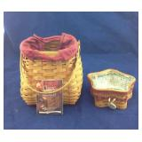 Pair of Classic Longaberger Baskets