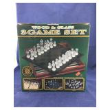 Wood and Glass 3 Game Set