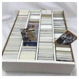 Large box of 1990s and 2000 baseball cards