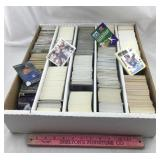 HUGE box of 1990s baseball cards