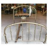 Full Sized Brass Bed Frame
