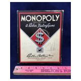 1930s-1940s Monopoly Box with Pieces
