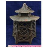 Cast Iron Pagoda Tea Light Holder