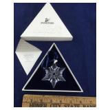 Boxed 2000 Swarovski Crystal Snowflake