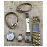 6 Assorted Watches Being Sold AS IS