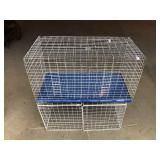 Two wire animal cages