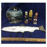 Fish Key Holder, Black Bear Plate & More