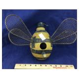Bumble Bee Birdhouse