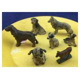 Small Cast Iron Dogs