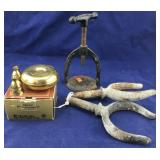 Swedish Candle Holders, Oar Locks & More