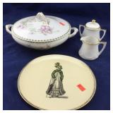 4 Vintage Pieces of Dinnerware