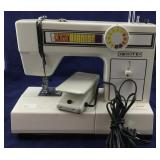Working White Brand Electric Sewing Machine