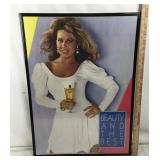 Framed Vintage Michelob Light Advertising Poster