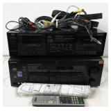 Sony Digital A/V Control Center & JVC Tape Deck