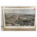 Civil War Lithograph - Fort McHenry, Baltimore