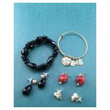 Bracelets and Earrings