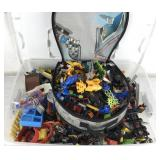 Collection of Legos & Star Wars Container