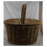 Large Basket With Cover