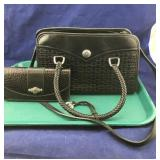 Leather Brighton Purse and Brighton Wallet