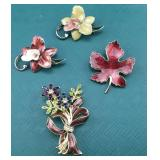 Vintage Enamelled Pins