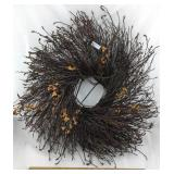 Faux Twig Wreath